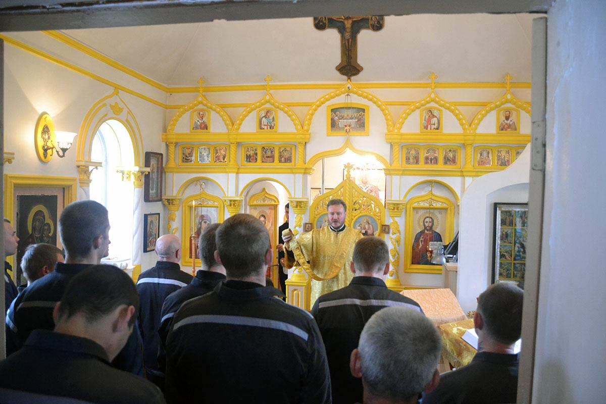 Неделя молитвы в ИК-8
